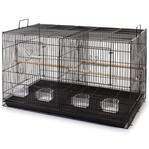"""Exercise Cage, With Divider 24""""x16""""x16"""""""