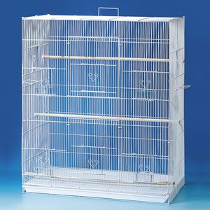 """Exercise Cage, Double Storey 30""""x18""""x36""""h"""