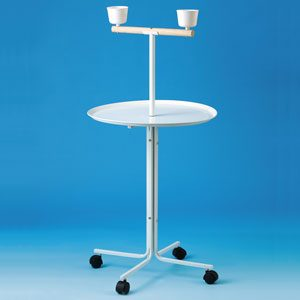 Parrot Stand With Round Tray