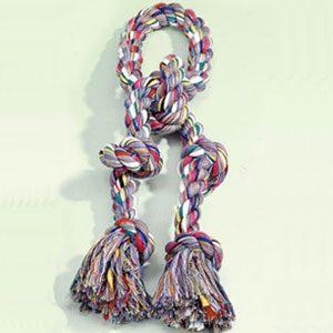 "Dog Dental Rope 5 knot 25mmx27"""
