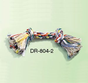 "Dog Rope Bone 2 knot 20mmx11"""