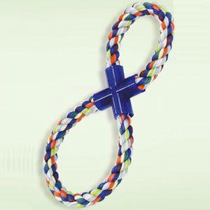 Dog Rope Tug Toy 8 Shape (L)