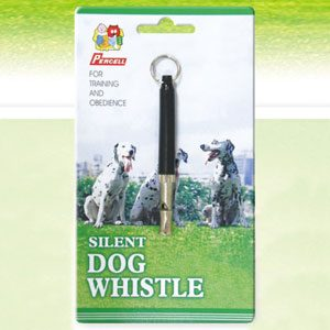 Dog Whistle 8cm Blister Carded