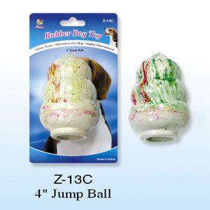 "Rubber Tumbler Ball 4""h"