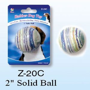 Rubber Solid Ball 2''