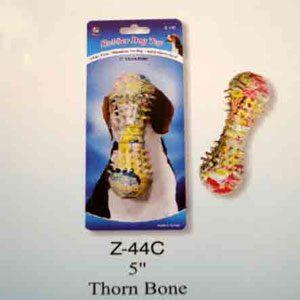 "Rubber 5"" Thorn Bone"