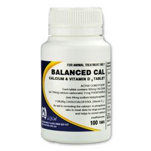 Balanced Cal Tablets 100's