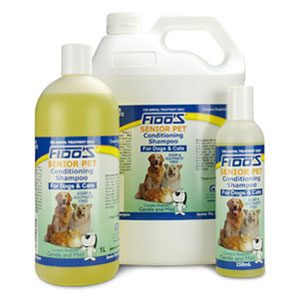 Fido's Senior Pet  Conditioning Shampoo 1L
