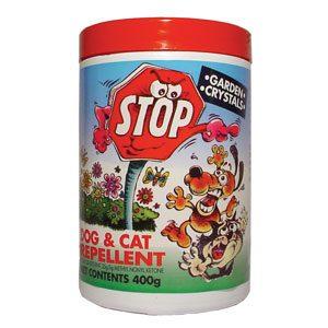 Stop Repellent Garden Crystals 400g