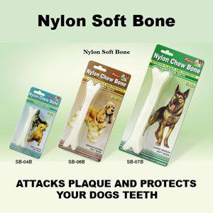 Soft Nylon Bone 4.5''