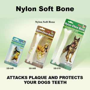 Soft Nylon Bone 7.5''