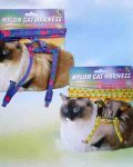Nylon Cat Harness & Lead Carded  9""