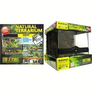 Exo Terra All Glass Terrarium - 12 X 12 X 12""