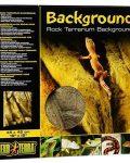 "Rock Terrarium Background - 18 X 18"""