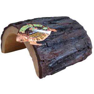 Reptile Hut Half Log - Large