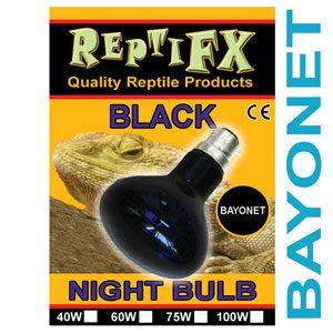 ReptiFX Black Reflector 40w