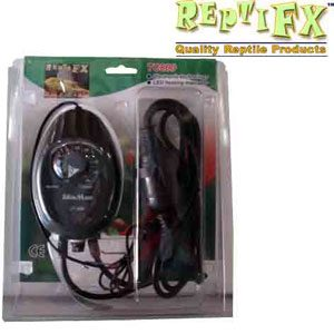 ReptiFX Thermostat  Ready Wired With Plastic Probe