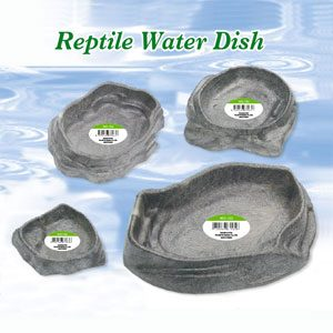ReptiFX Reptile Water Or Feed Dish Large