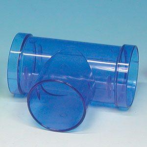 Plastic T-pipe