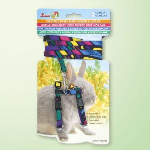 Rabbit  Nylon Lead/harness Set Carded