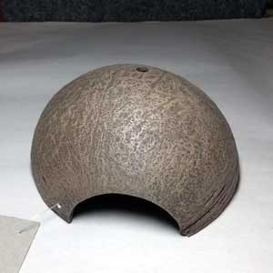Hide Cave - Coconut Shell Half Cut 11cm X 12cm X 7cmH