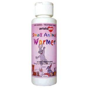 125ml Small Animal Wormer