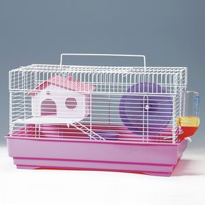 Mouse Cage Plastic Base - Wire Top 41x30x23cm
