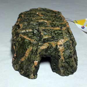 Reptile Cave - 13.2cm X 8cm X 4cmH