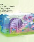 Mouse Cage Plastic and Wire 42 X 26.5 X 25cmh